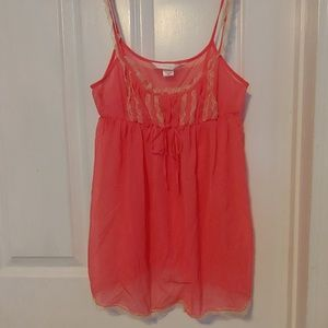 3/$10 Victoria's Secret Babydoll Lingerie Top